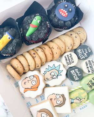 dulces rick and morty