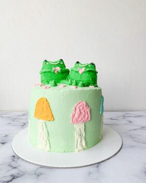 Torta koreana cumpleaños