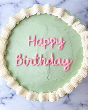 Torta para cumpleaños lima