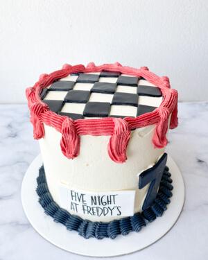 Torta para cumpleaños freddy
